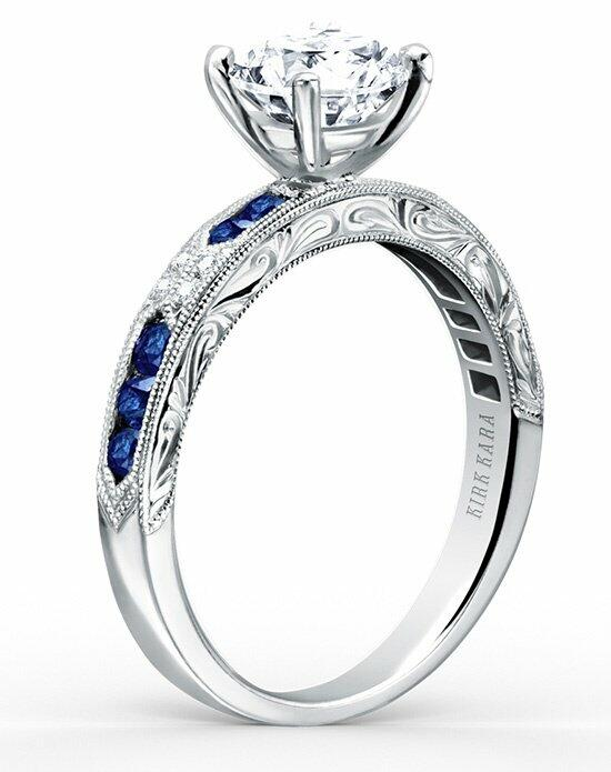 Kirk Kara Charlotte Collection K1390SD-R Engagement Ring photo