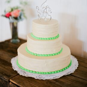 Yellow Sponge Fruit Filled Wedding Cake