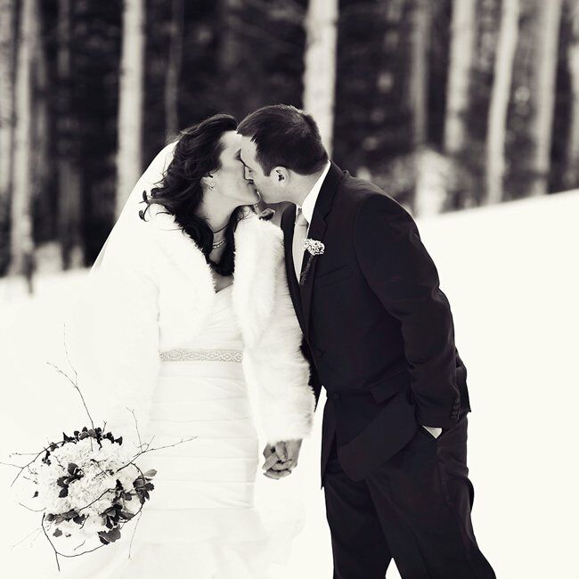 A Vintage Ski Themed Wedding In Park City Ut