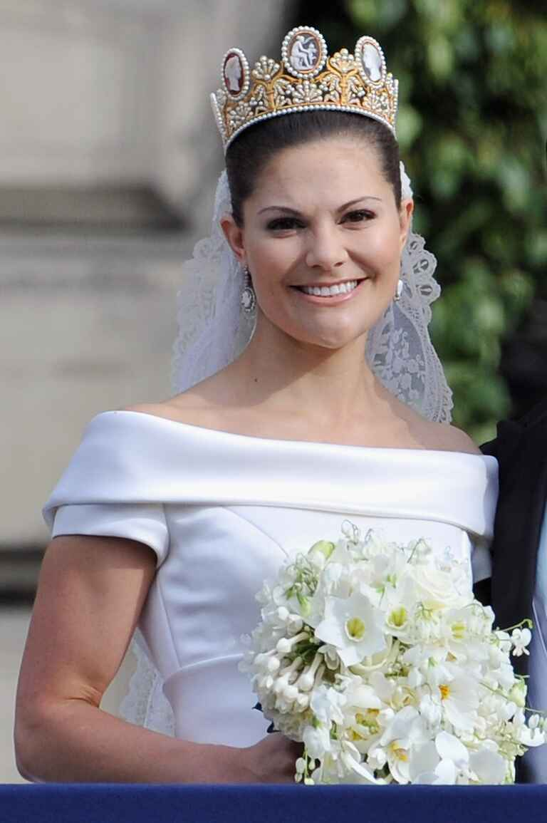 Princess Victoria on her wedding day
