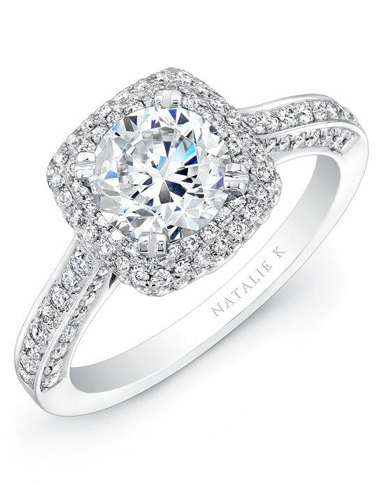 Natalie K Renaissance Collection - NK25727-W Engagement Ring photo