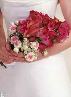 Pink armful bouquet
