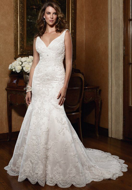 Casablanca Bridal 2030 Wedding Dress photo