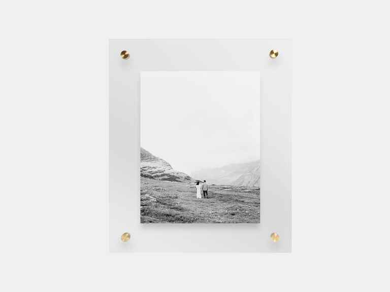 Artifact Uprising Float Frame cool wedding gift ideas