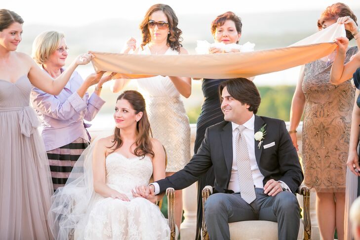An Outdoor Wedding at Villa Del Lago Events Pavilion in Austin, Texas
