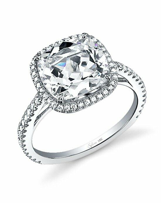 Sylvie Collection SY395 Engagement Ring photo