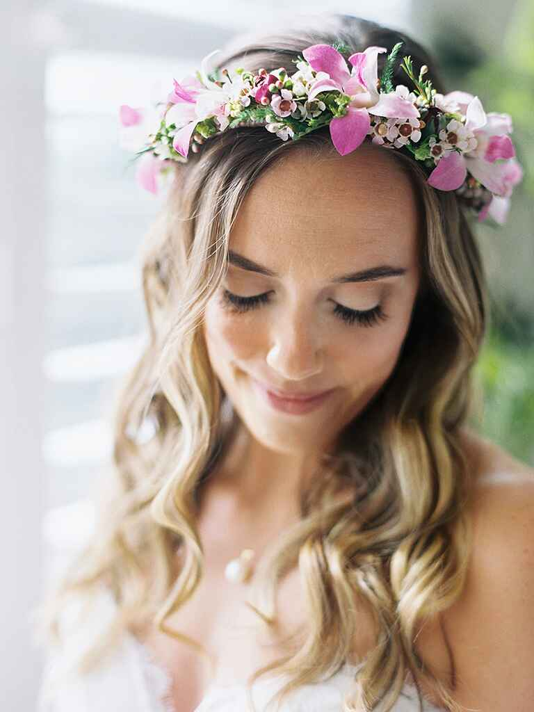 flower headbands for weddings 22 bridal flower crowns for your wedding 4196