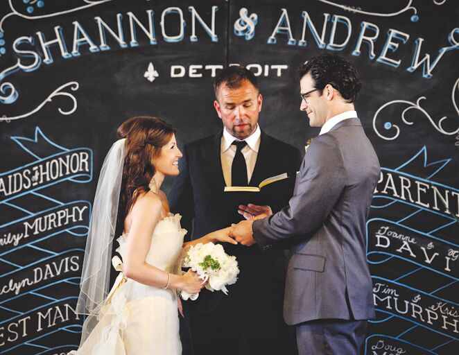 7 Creative Chalkboard Wedding Ideas