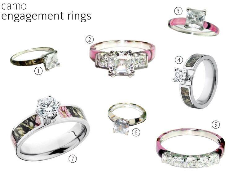7 camo engagement rings - Wedding Rings Camo
