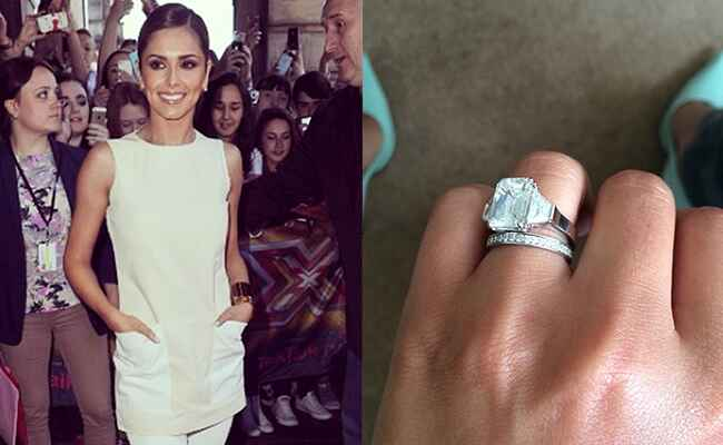Cheryl Cole Engagement Ring: Cheryl Cole / TheKnot.com