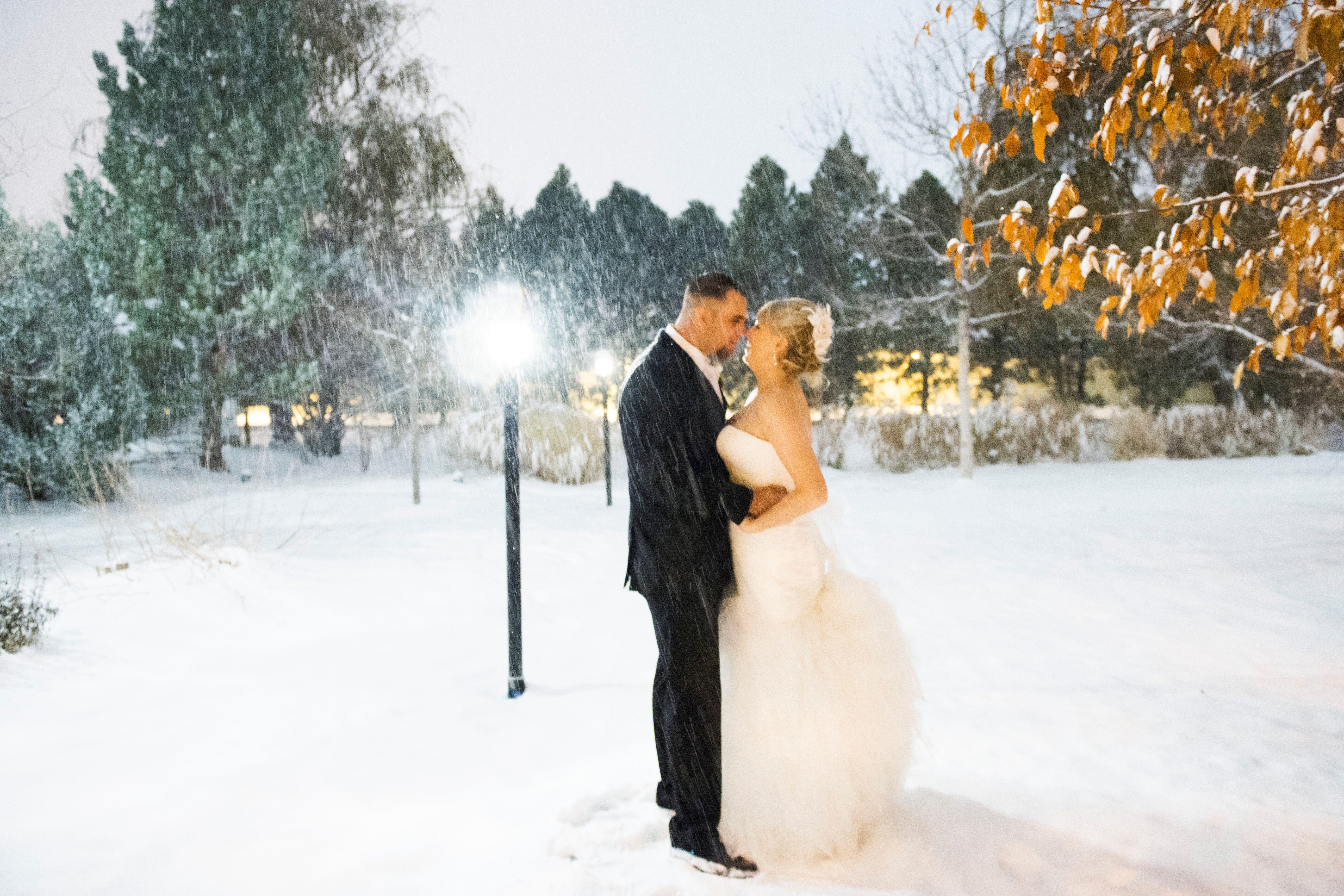 A Glamorous Winter Wedding At The Terrace Gardens Event Center In Centennial Colorado
