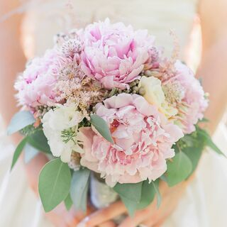 Real Summer Wedding Flowers