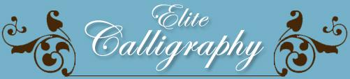 Elite Calligraphy Winner Best Of Weddings 2016 Boston Ma