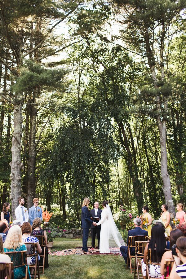 Tree Ceremony in the Woods
