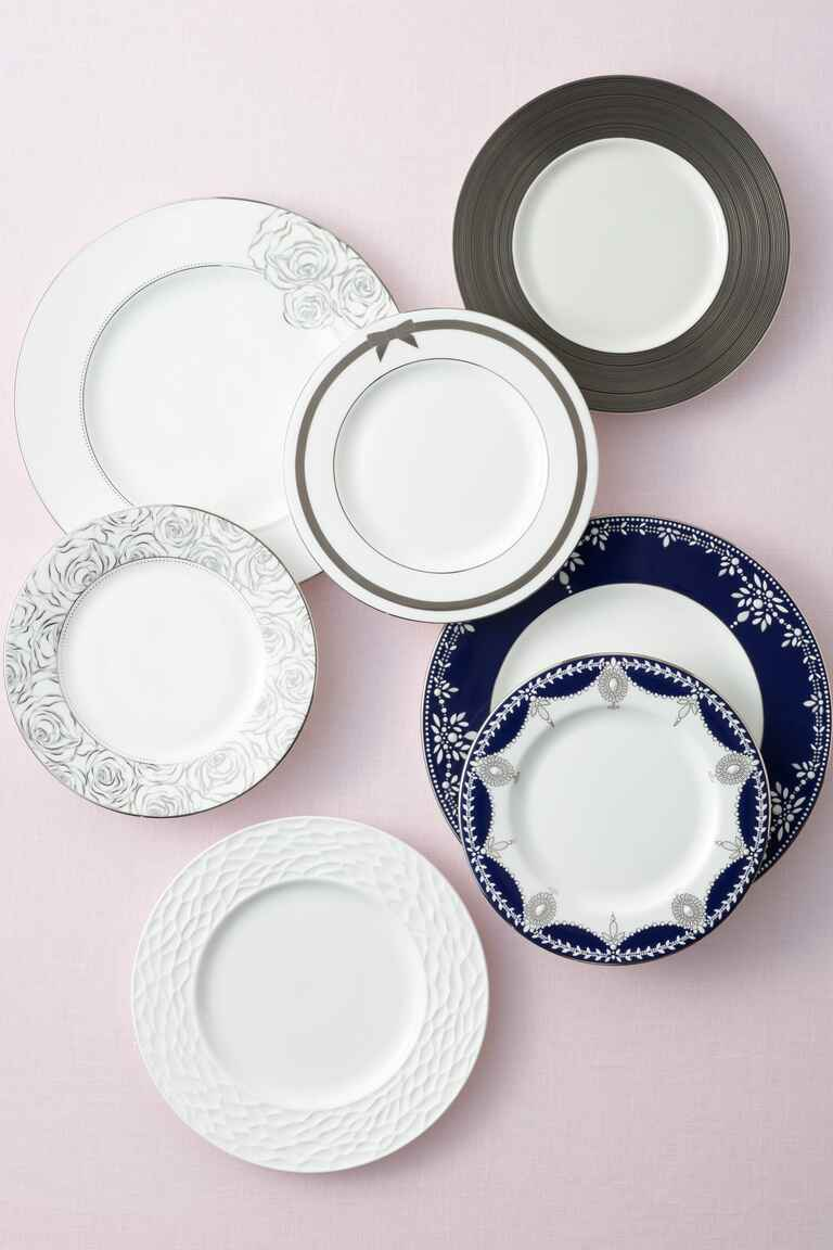 Wedding registry kitchenware and china