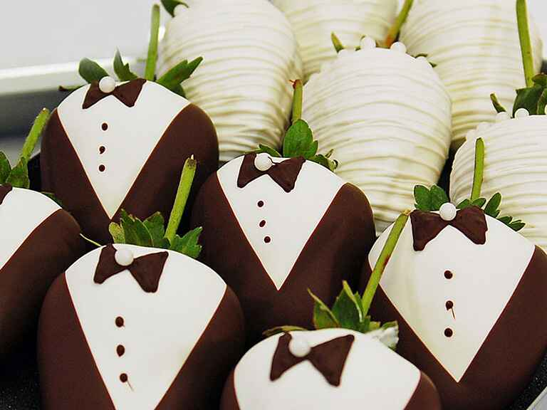 Golden Edibles strawberries engagement gift ideas