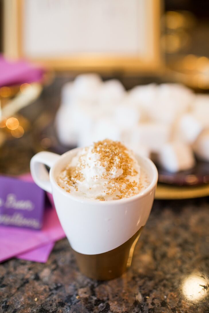 Hot Chocolate Reception Drink