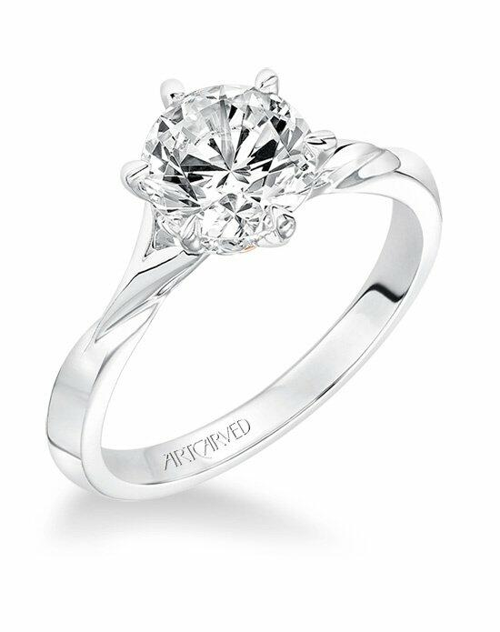 ArtCarved 31-V613GRR-E Engagement Ring photo
