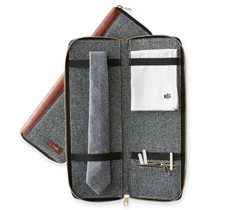Travel tie-case groomsmen-gift ideas