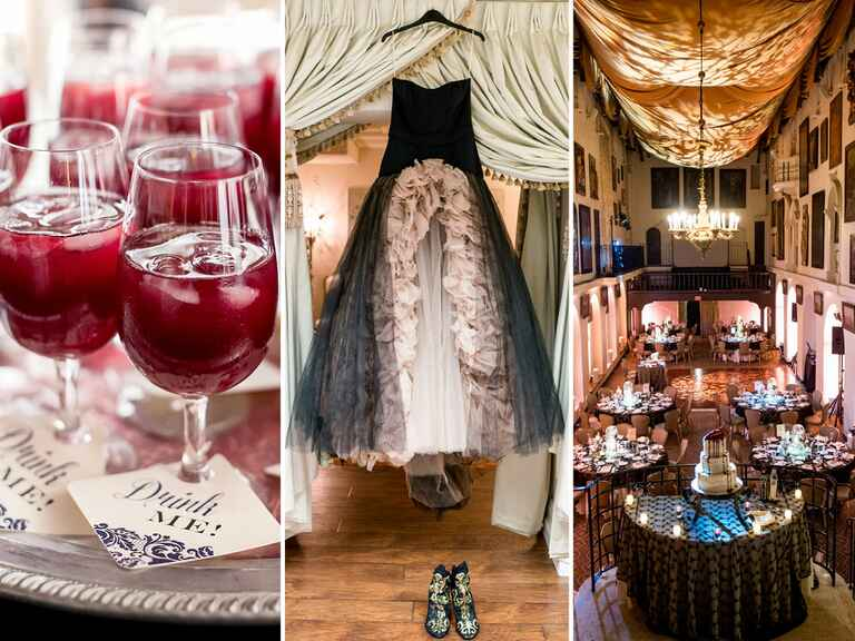 13 Stylish Halloween Wedding Ideas For Your Ceremony And