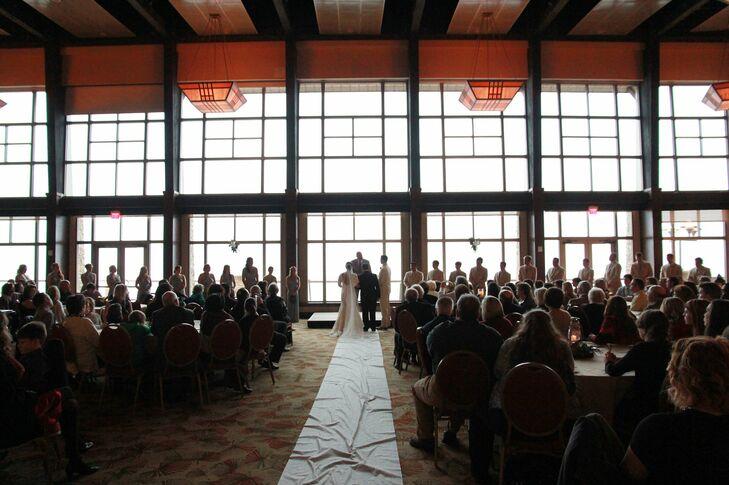 Wedding ceremony at lake guntersville lodge - Guntersville public swimming pool ...