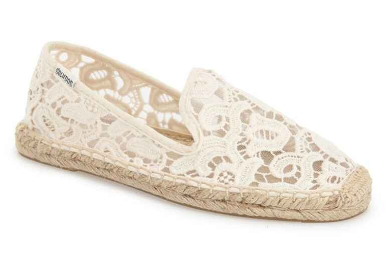 Soludos Smoking Slipper Tulip Lace