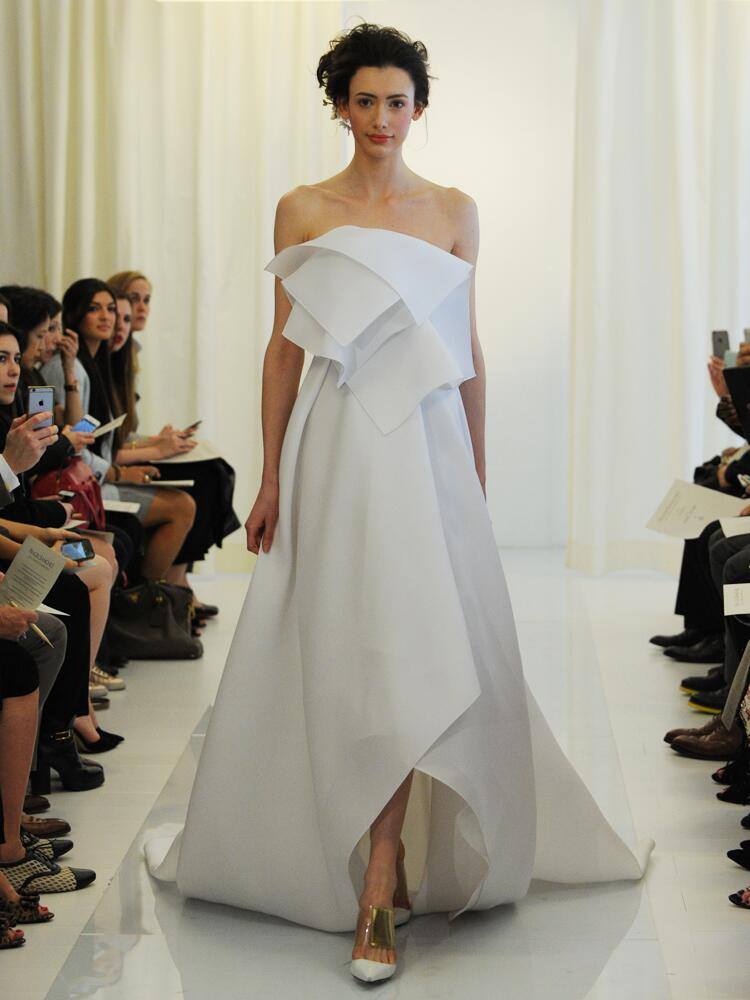 angel sanchez layered dress