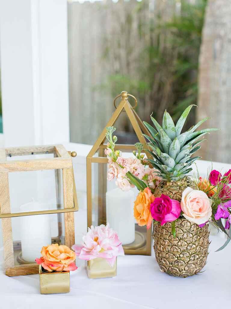 Pineapple Wedding D U00e9cor Ideas
