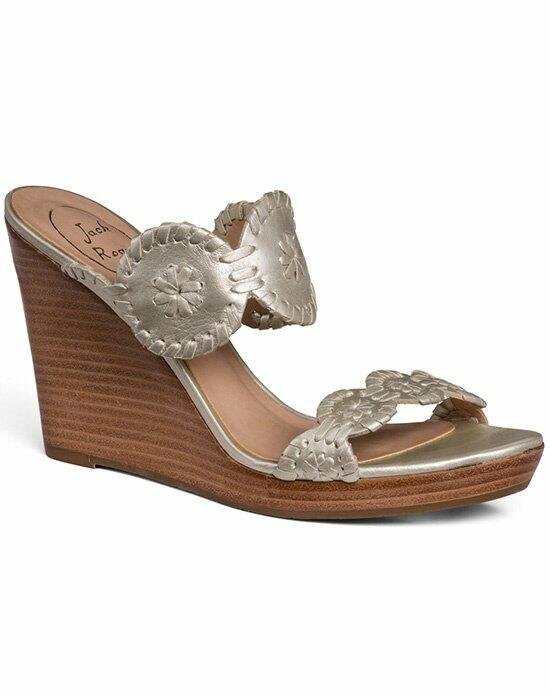 Jack Rogers Luccia Wedge Wedding Shoes photo