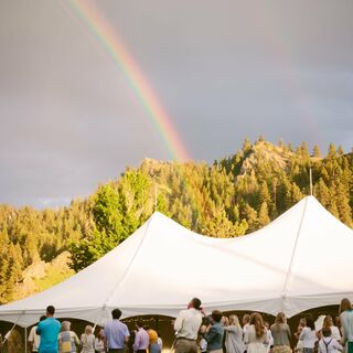 An At-Home Wedding in Cascade