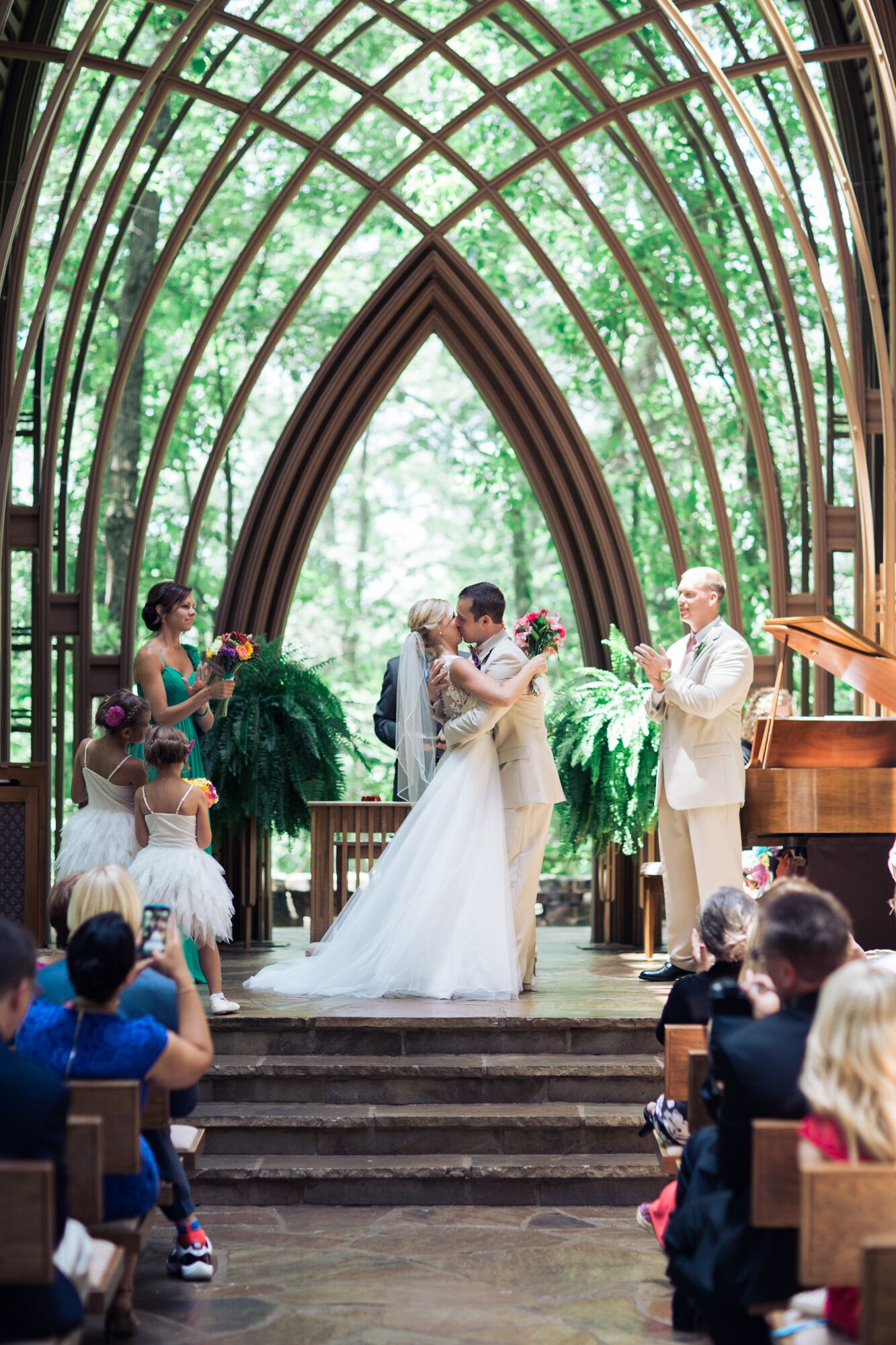Mildred B Cooper Memorial Chapel Wedding Ceremony