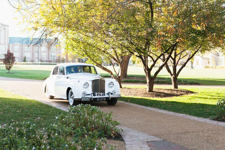 Vintage Rolls Royce Ceremony Transportation