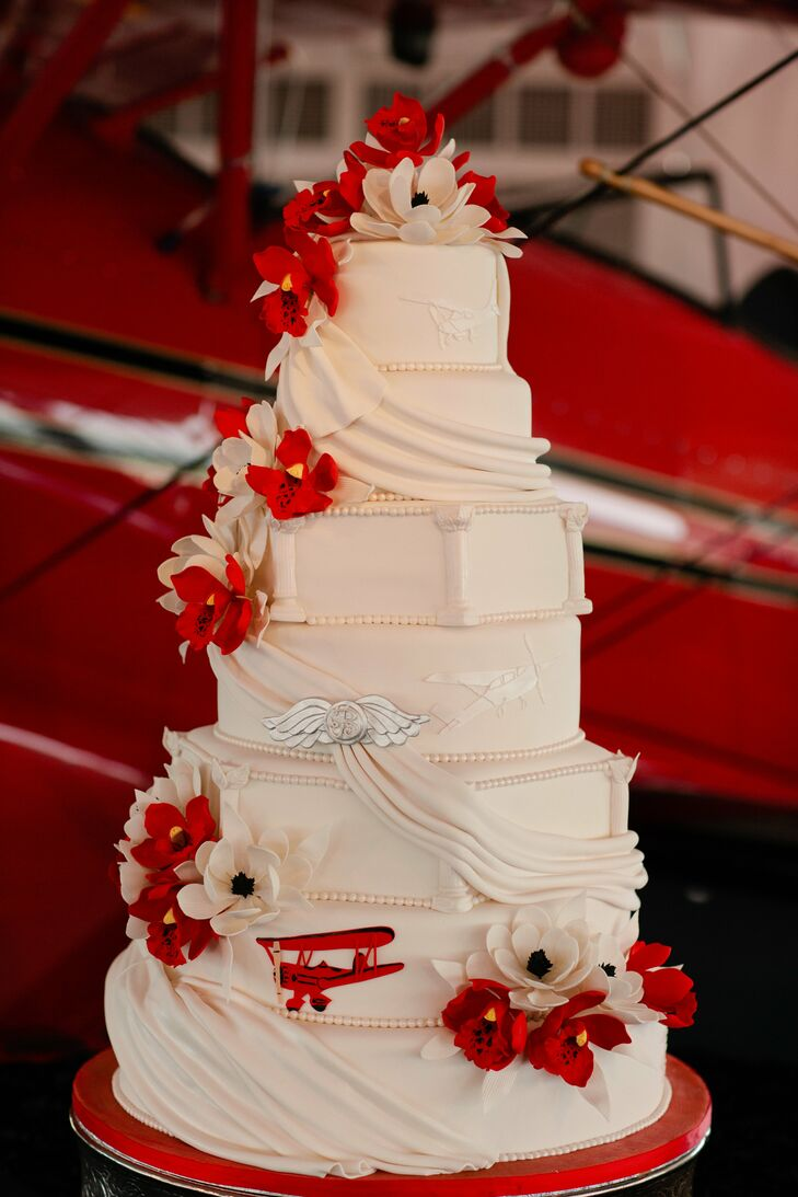 ocala fl wedding cakes a biplane themed wedding in ocala fl 17965