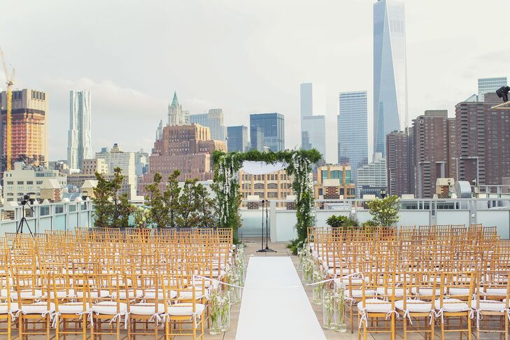 Small inexpensive wedding venues nyc skyline