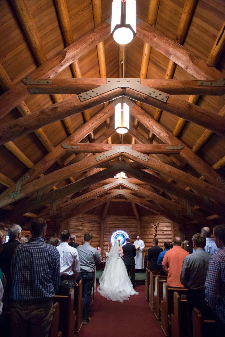 A Rustic Western Wedding At Diamond Cross Ranch In Moran
