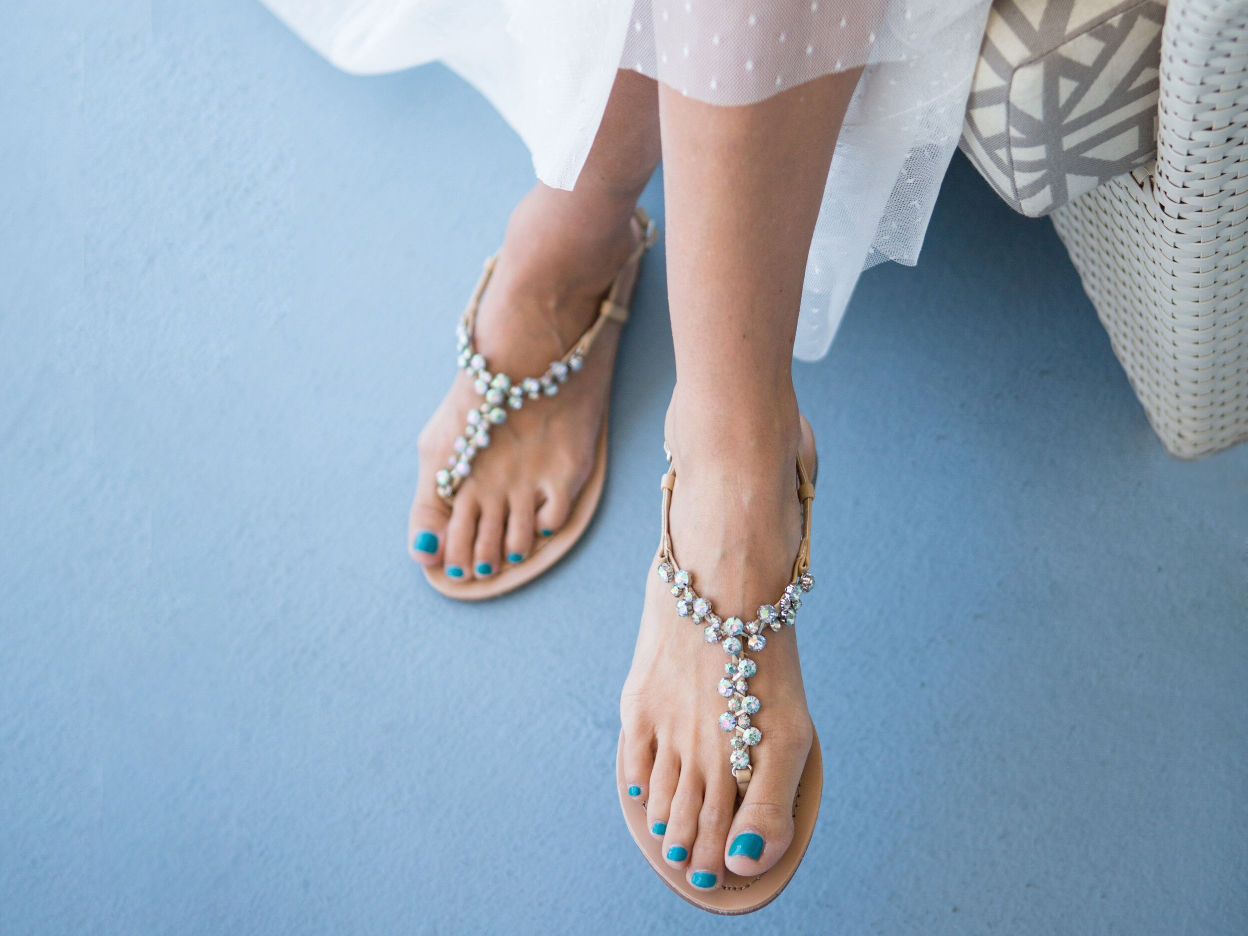 must wedding shoes be white wedding sandals for bride