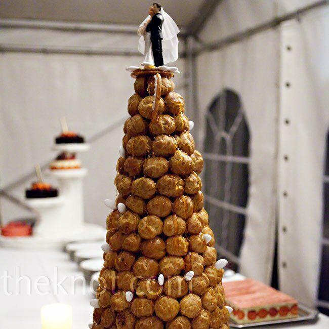 French Wedding Cake.French Wedding Cake