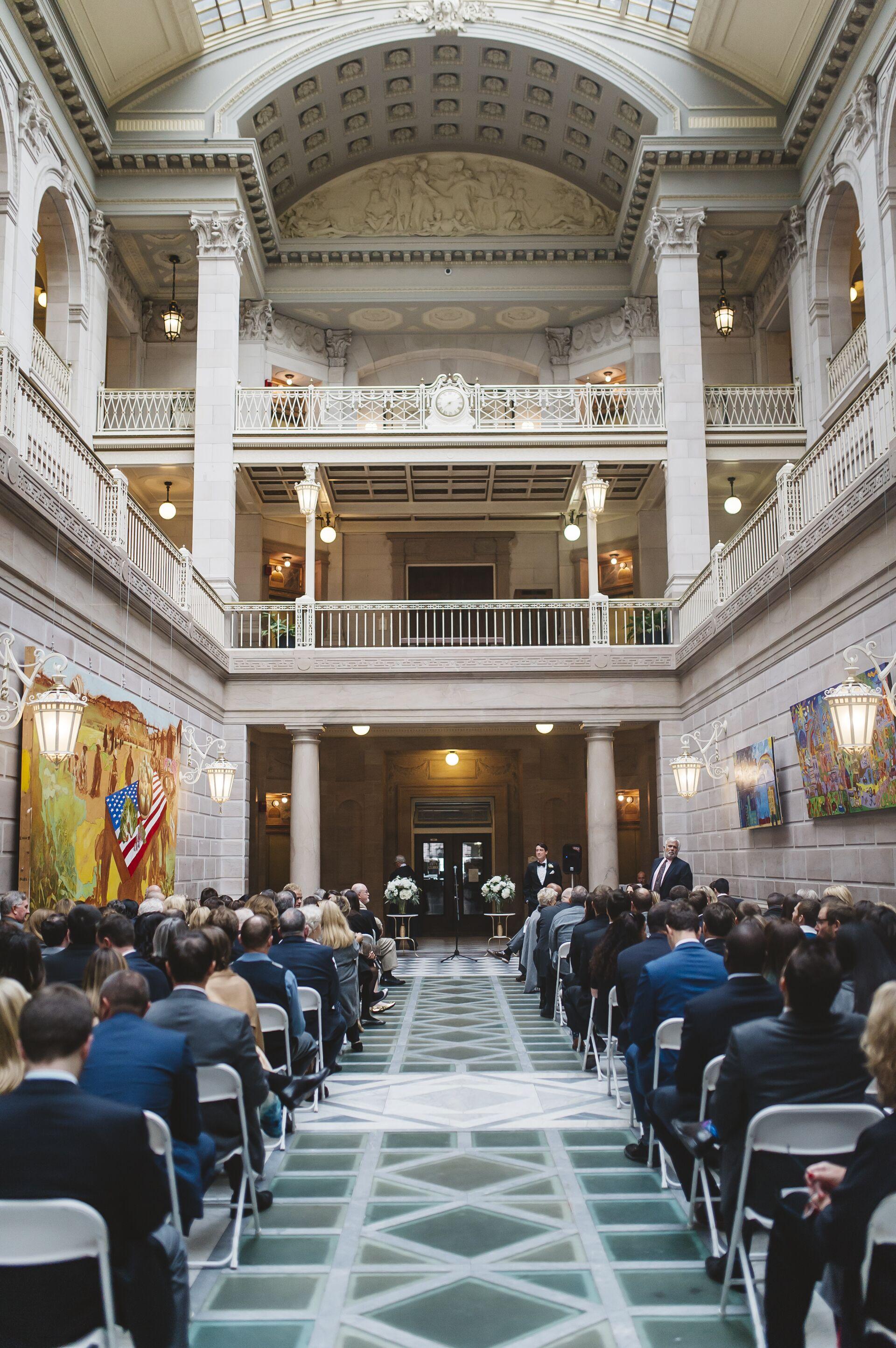 Hartford City Hall Wedding Ceremony