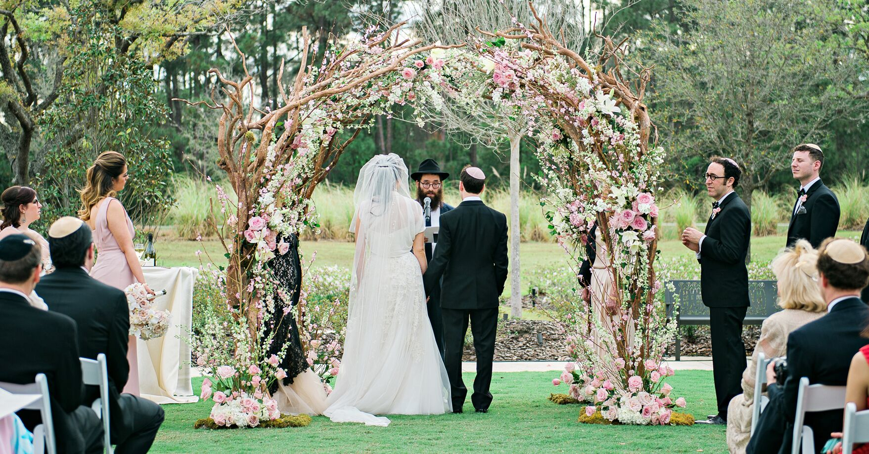 It is just a graphic of Jewish Wedding Ceremony: Jewish Processionals, Recessionals & Seating