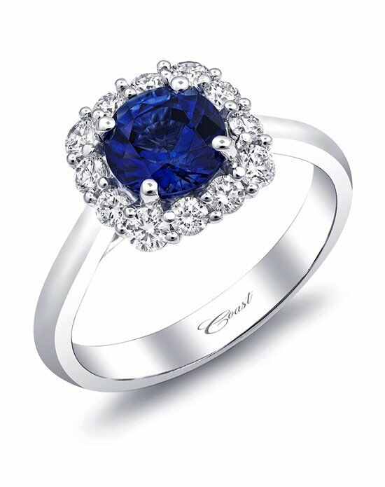 Coast Diamond Signature Color Collection - LC5254-S Engagement Ring photo