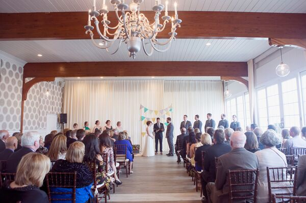 Wychmere Beach Club Indoor Ceremony