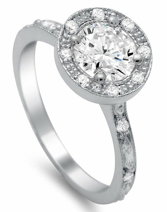 Timeless Designs R1284 Engagement Ring photo