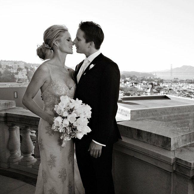 Courtney & Hugh: An Outdoor Wedding In San Francisco, CA