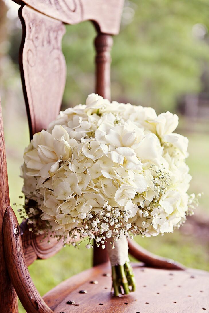 white hydrangea wedding bouquet white hydrangea bridal bouquet 1342