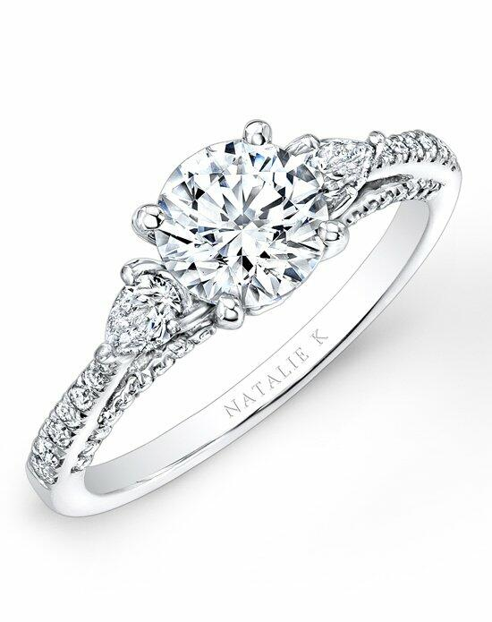 Natalie K Trois Diamants Collection - NK26627-W Engagement Ring photo
