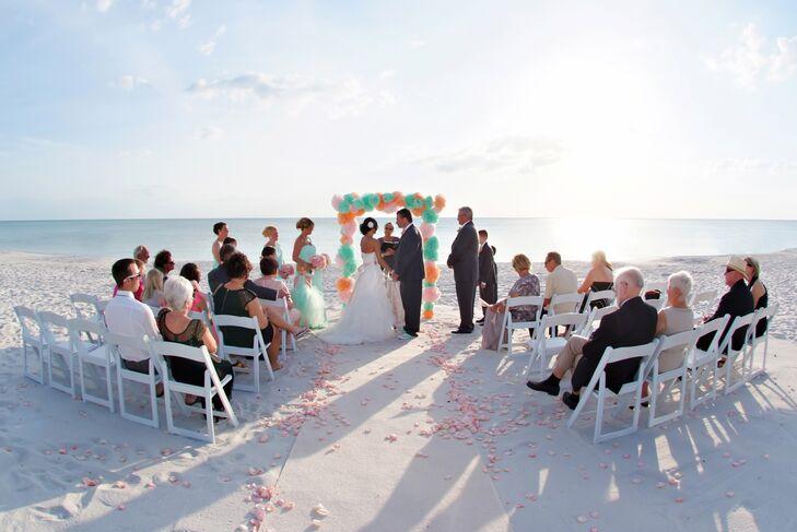Naples Florida Beach Weddings: A Colorful Beach Wedding At The Ritz-Carlton, Naples In