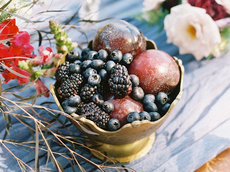 Fruit centerpiece ideas for your wedding