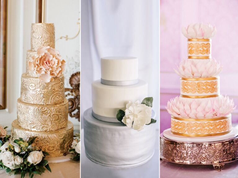 15 hot wedding cake trends - Wedding Cake Design Ideas