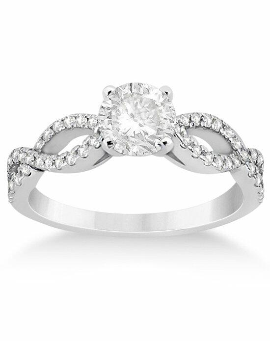 Allurez - Customized Rings U3426 Engagement Ring photo