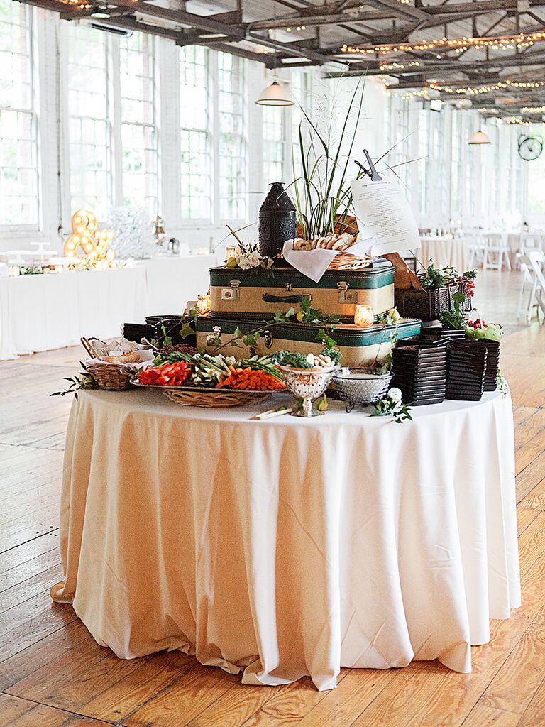 buffet wedding reception - Wedding Decor Ideas